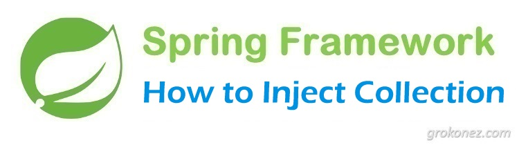 How to inject Collection in Spring