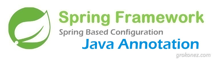 Spring Based Configuration – Java Annotation