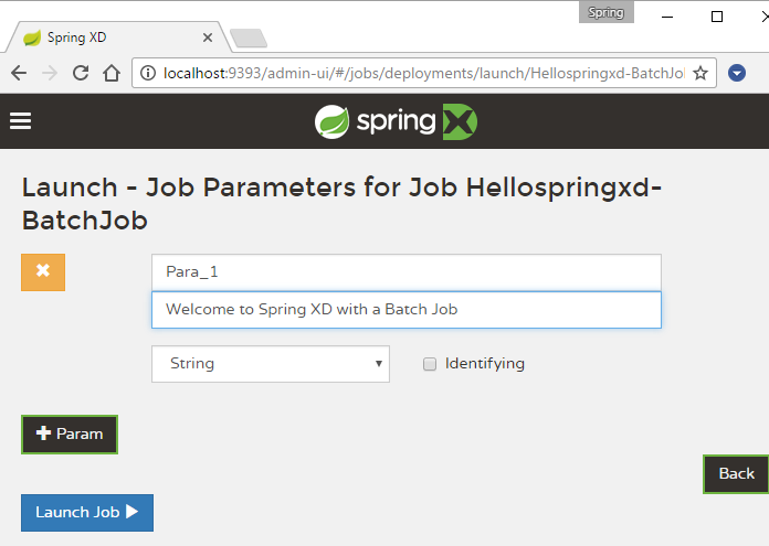 spring-xd-launch-job