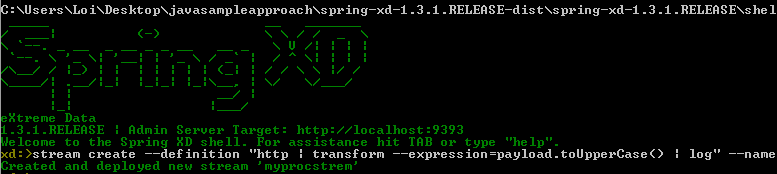 spring-xd-stream-create-stream