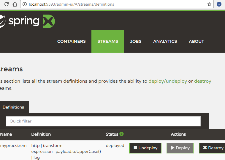 srping xd stream-is-deployed