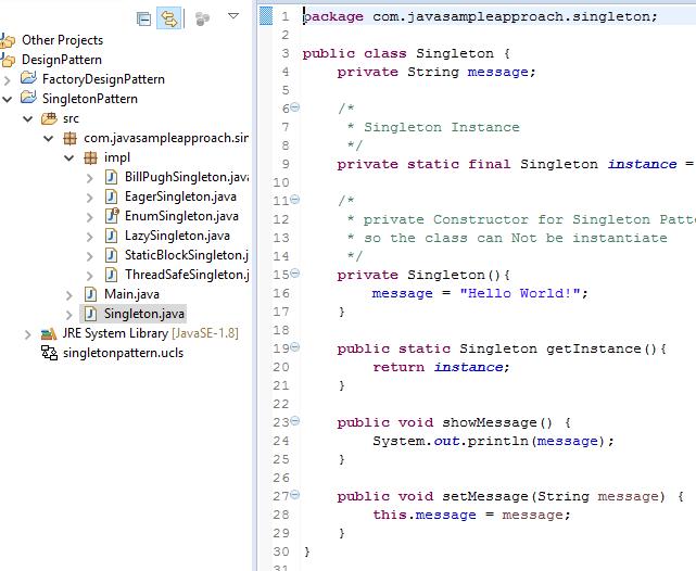 java design pattern project