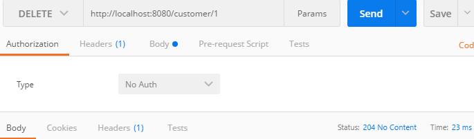 Spring Boot Spring Integration Http Inbound Channel - delete result