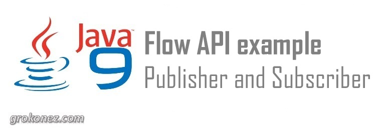 Java 9 Flow API example – Publisher and Subscriber