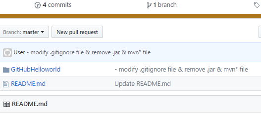 Github - STS - fix mistake - message