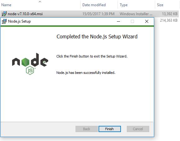 angular4 - springboot springtoolsuite - install nodejs