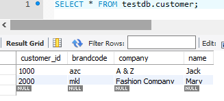 composite primary key - embeddable class - customer table