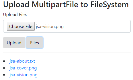 SpringBoot-Upload-Download-MultipartFile-2-FileSystem-using-Bootstrap-4-JQuery-Ajax-list-all-files