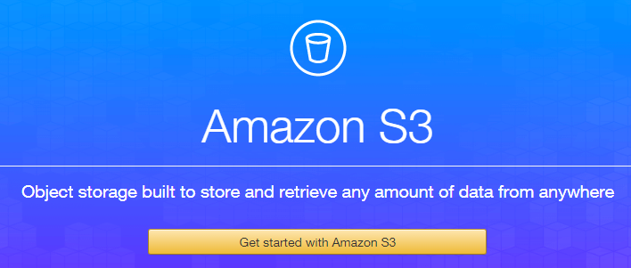 springboot amazon s3 starter - sign up