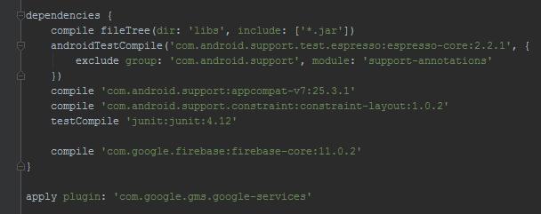 firebase-add-sdk-app-level
