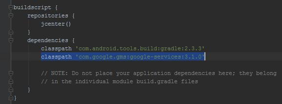 firebase-add-sdk-project-level