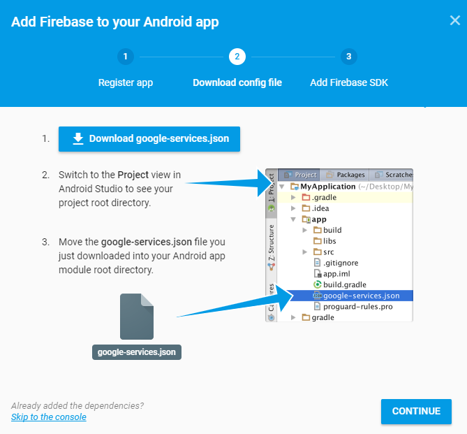 firebase-download-config-file