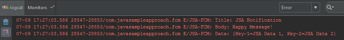 spring-boot-fcm-push-notification-result-logcat