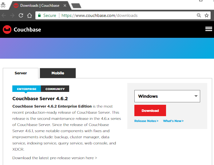 couchbase download