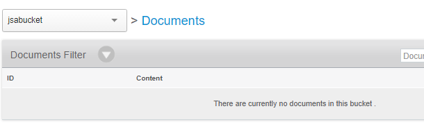 spring cache couchbase - jsabucket - no document