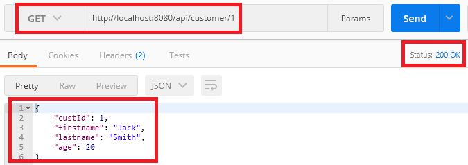 springboot webflux functional - get a customer by id
