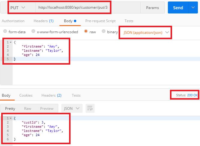 springboot webflux functional - put a customer