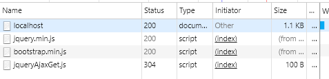 HTML 5 - Web LocalStorage - Using JQuery to Cache data from SpringBoot RestAPIs - record the second request
