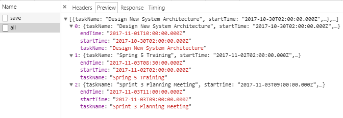 Html5 DateTime + AngularJs + SpringBoot @JsonFormat - get all data requests