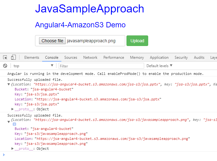 amazon-s3-angular4-result-upload