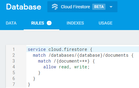 cloud-firestore-console-config-auth