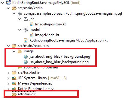 Kotlin Spring JPA save Files Images to MySQL - pre