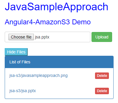 amazon-s3-angular4-delete-file-demo