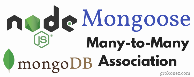 Mongoose Many-to-Many related models with NodeJS/Express