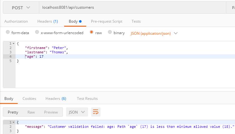 nodejs-mongodb-restapi-validation error model