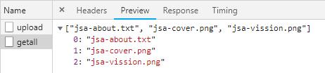 NodeJS-Express-Multer-Upload-MultipartFile-Ajax-Jquery-Bootstrap-getallfiles-request