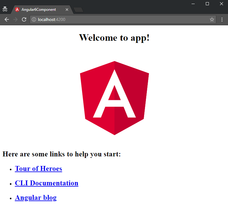 angular-6-component + firstlook-angular-6-project