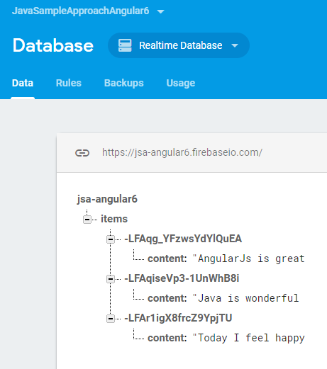 angular-6-firebase-integration-result-database
