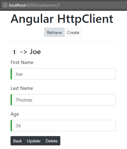 angular-6-http-client-get-post-put-delete-request + customer-details