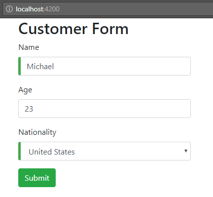 angular-6-template-driven-form +customer-form-all-valid