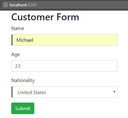 angular-6-template-driven-form +press-edit-button-data-entry-form