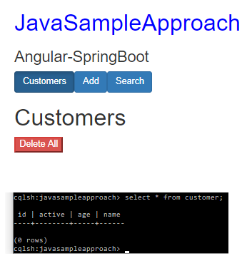 spring-boot-angular-6-spring-rest-api-data-cassandra-delete-all-customers