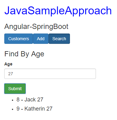 spring-boot-angular-6-spring-rest-api-data-postgresql-search-customers