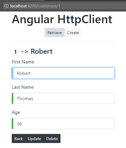 Angular 6 HttpClient - PostgreSQL - Node js/Express Sequelize CRUD