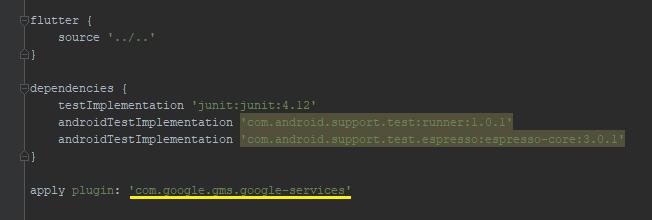 integrate-flutter-firebase-example-configure-android-add-plugin
