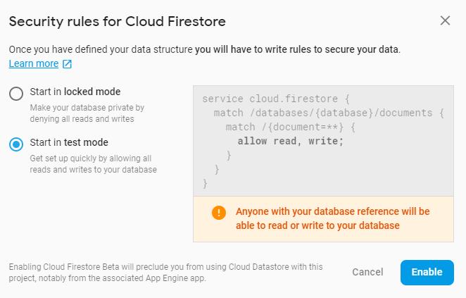 integrate-flutter-firebase-example-configure-firestore-rules