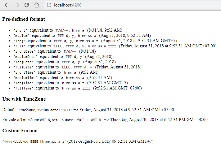 angular-6-date-pipe-pre-defined-format-timezone-locale-custom-format-usage-example