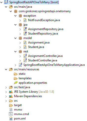 jpa-hibernate-one-to-many-spring-boot-rest-apis-spring-jpa-one-to-many-postgresql-project-structure
