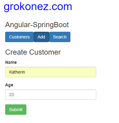 kotlin-spring-boot-angular-6-httpclient-spring-rest-api-data-postgresql-database-add-customer