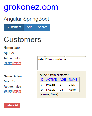 spring-boot-angular-6-httpclient-spring-rest-api-data-h2-in-memory-database-delete-customer