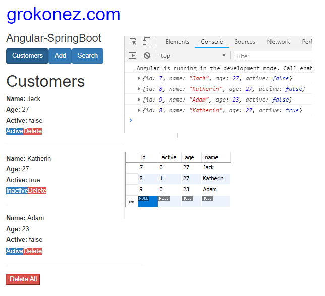 spring-boot-angular-6-httpclient-spring-rest-api-data-mariadb +update-customers