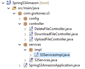 spring-boot-restapi-delete-files-amazon-s3 + project-structure