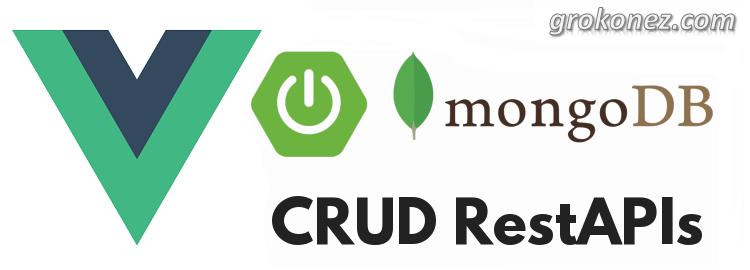 Spring Boot + Vue.js example | Spring Data MongoDB + RestApi CRUD