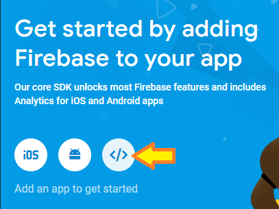 vuejs-firestore-example-note-app-add-firebase-web-app