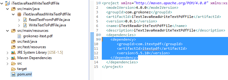 Java - iText Write/Read PDF File Example - PdfReader +