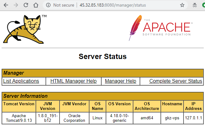 install-java-in-linux-remote-server-with-vultr-hosting-vps-tom-cat-server-status